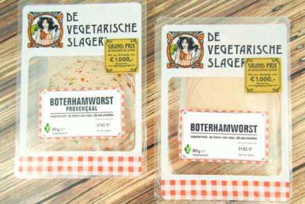 Boterhamworst De Vegetarische Slager