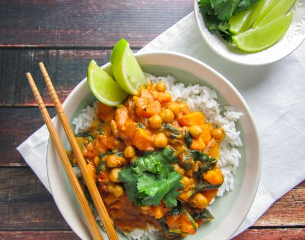 Curry kokos