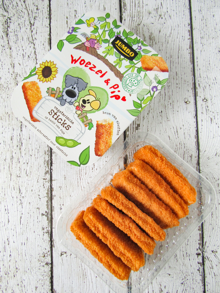 Woezel en Pip vegetarische sticks