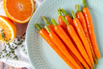 geglaceerde wortels