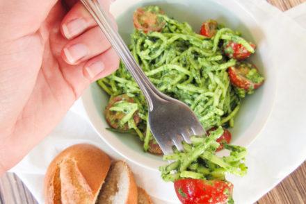 courgette spaghetti salade