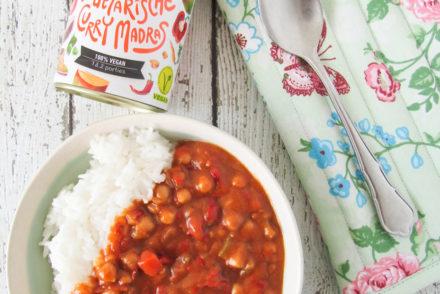vanBLIK vegetarische curry madras