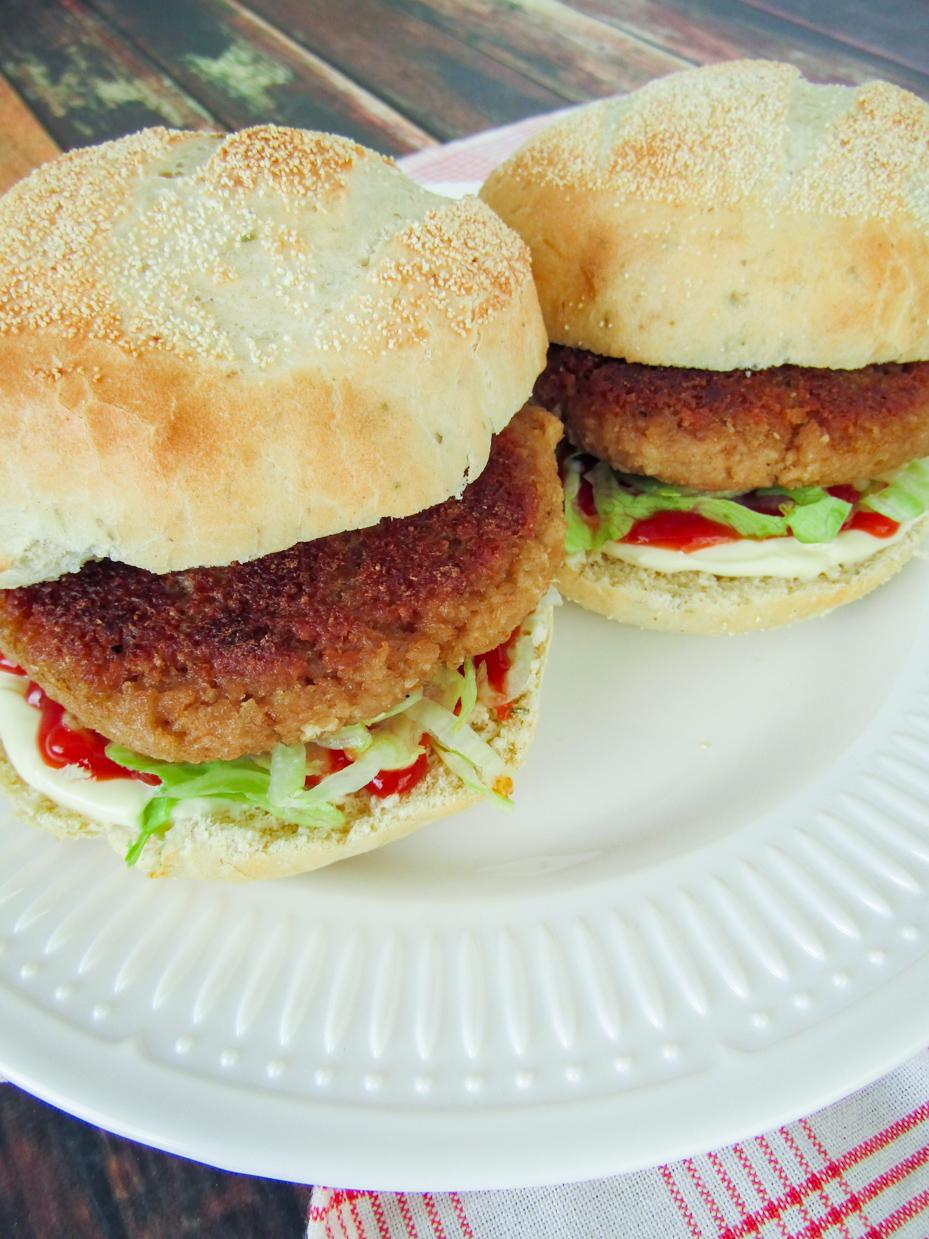 vegan kipburgers