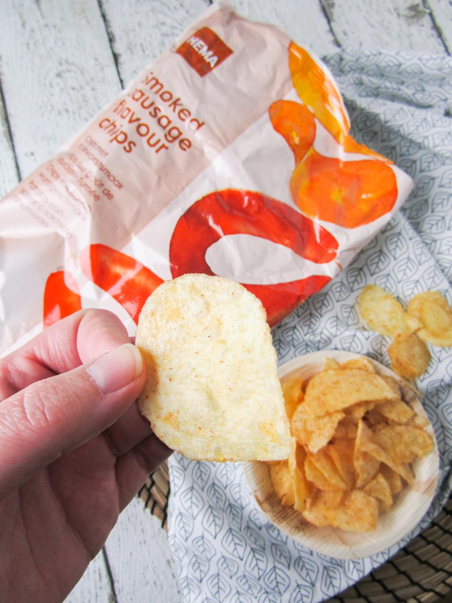 hema chips met rookworstsmaak
