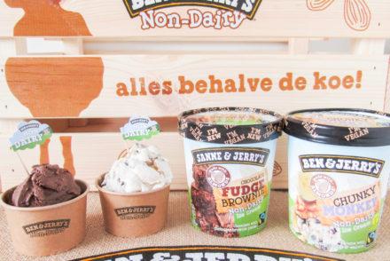 ben & jerry's non-dairy vegan ijs