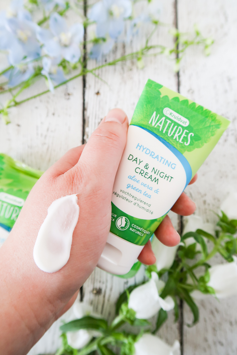 kruidvat natures hydrating skincare